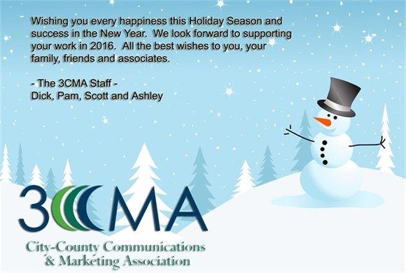 Happy Holidays from 3CMA!