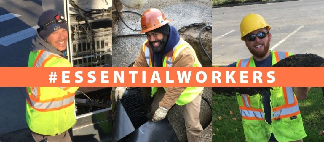 Hashtag Essential Workers - Kent Public Works - 6-12-20 Blog