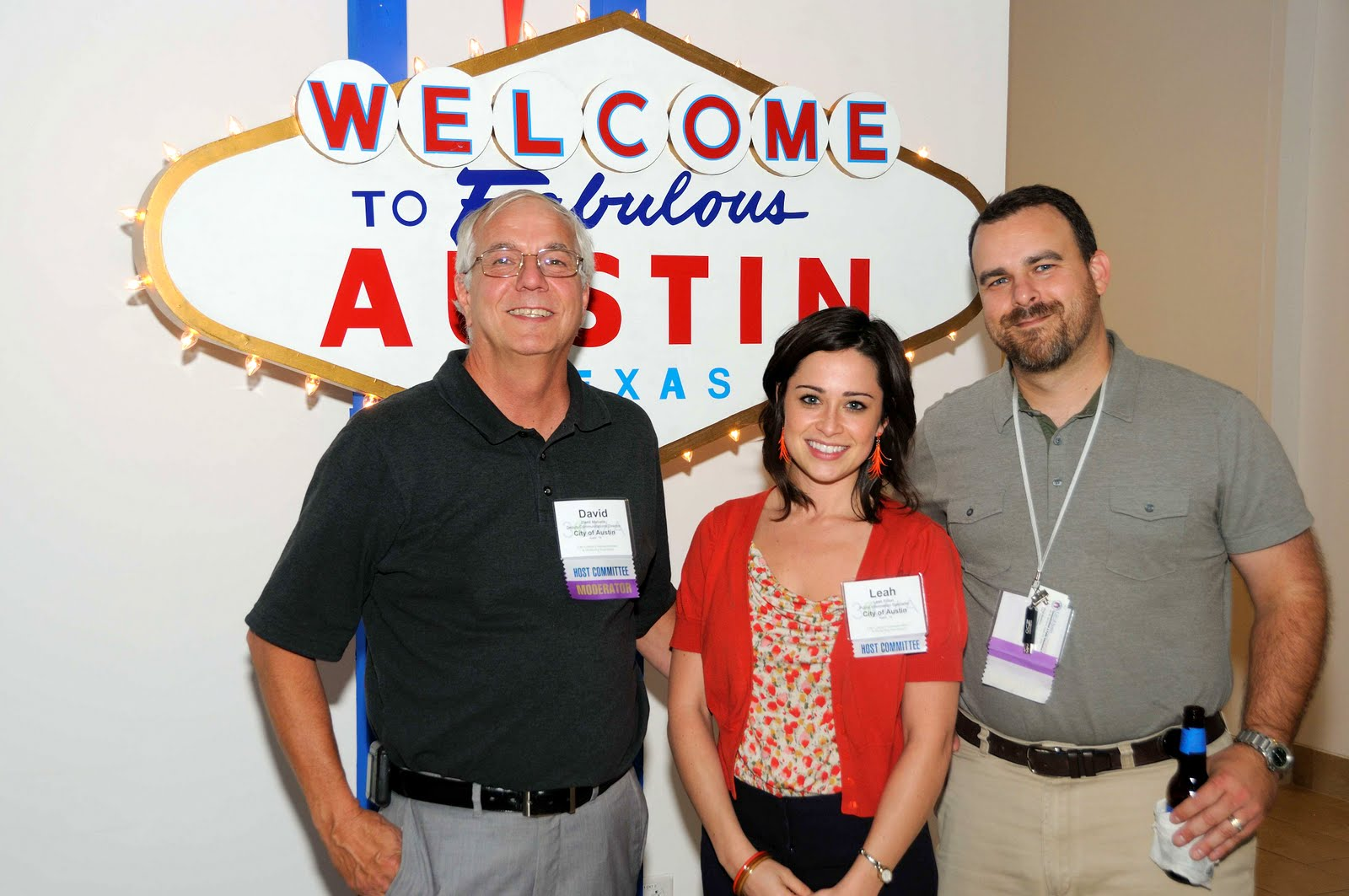 David Matustik, Leah Fillion and Doug Matthews - City of Austin, TX