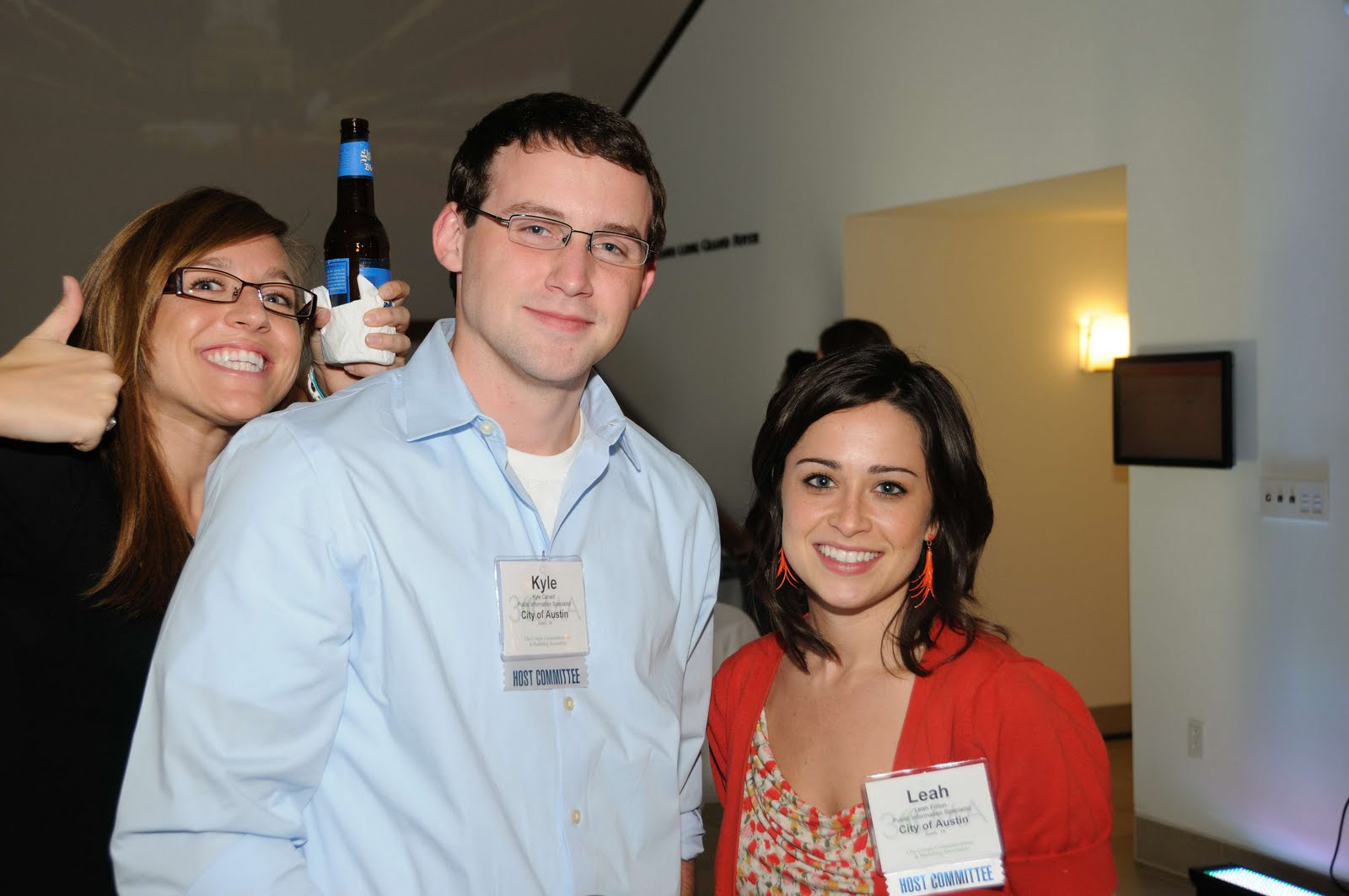 Samantha Parks, Kyle Carvell and Leah Fillion - City of Austin, TX