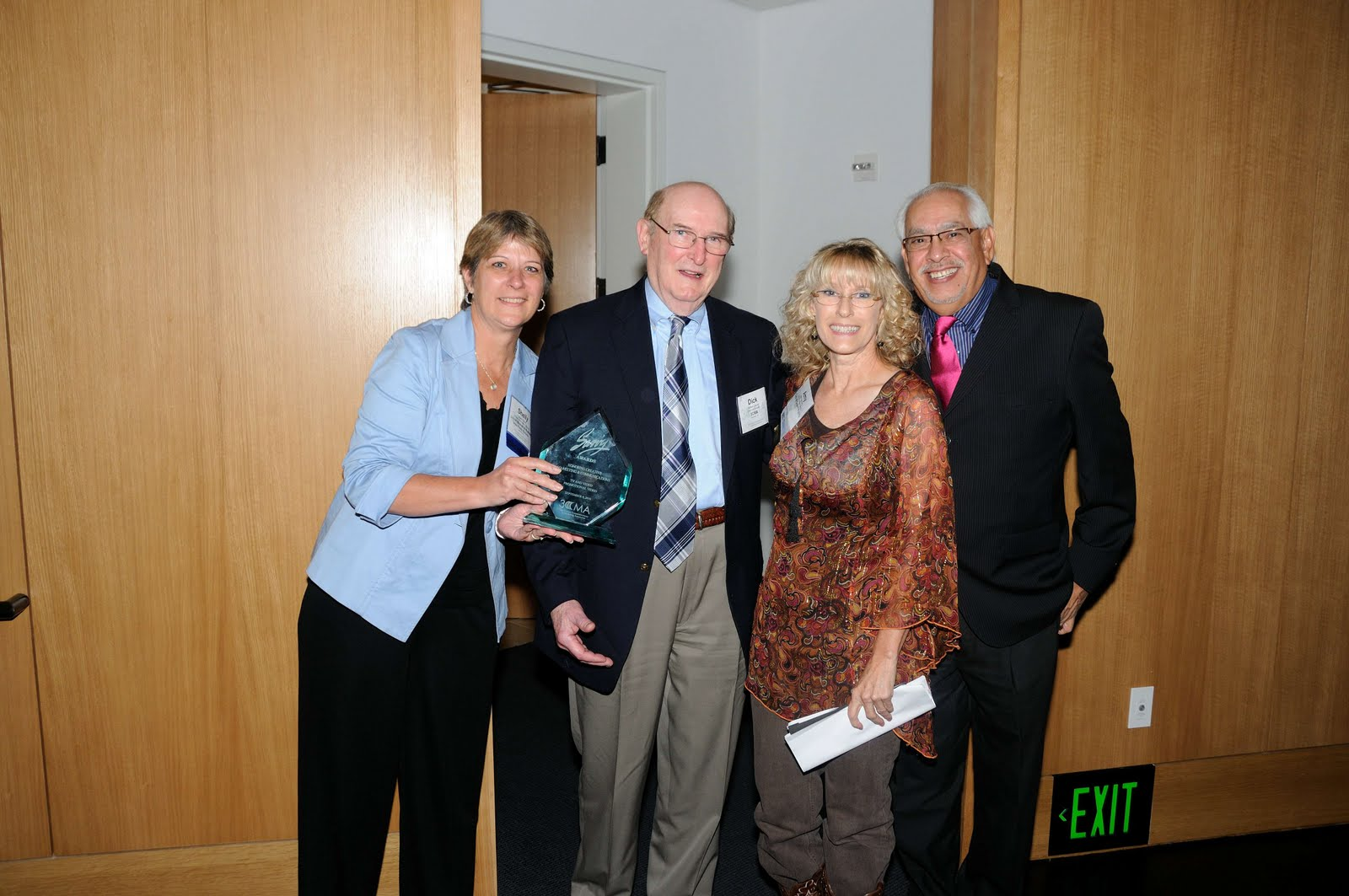 Shelly Schulz (Mankato, MN), Dick Lillquist (3CMA), Amy Sprinkles (Grand Prairie, TX) and Joe Munoz (Maricopa County, AZ)